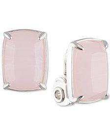 Lauren Ralph Lauren Stone Clip-On Button Earrings