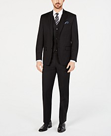 Men's Classic-Fit UltraFlex Stretch Black Suit Separates