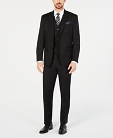 Lauren Ralph Lauren Men's Classic-Fit UltraFlex Stretch Black Suit Separates
