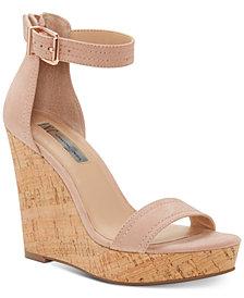 I.N.C. Vidita Platform Wedge Sandals, Created for Macy's