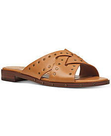 Nine West Clermont Studded Slide Sandals