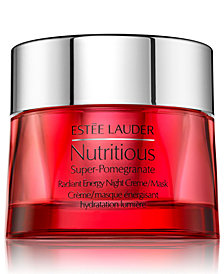 Estée Lauder Nutritious Super-Pomegranate Radiant Energy Night Creme/Mask, 1.6 oz.