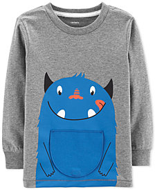 Carter's Toddler Boys Monster Cotton T-Shirt