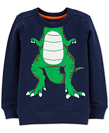 Carter's Toddler Boys Cotton Dinosaur Sweatshirt