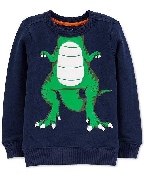 Carter's Toddler Boys Cotton Dinosaur Sweatshirt