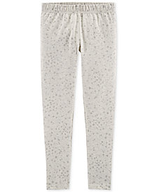 Carter's Little Girls Star-Print Leggings