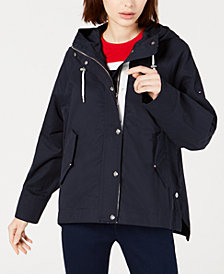 Tommy Hilfiger Cotton Hooded Anorak, Created for Macy's
