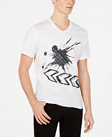 I.N.C. Men's Rustle Graphic Sequin T-Shirt, Created for Macy's