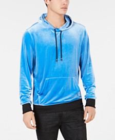 I.N.C. Men's California Velour Hoodie, Created for Macy's