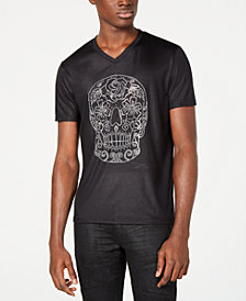 I.N.C. Men's Skull Graphic T-Shirt, Created for Macy's