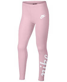 Nike Big Girls Sportswear Logo Leggings