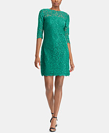 Lauren Ralph Lace Dress