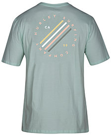 Hurley Mens Sail Bait Graphic T-Shirt, Created for Macy's