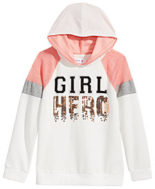 Beautees Big Girls Girl Hero Hoodie