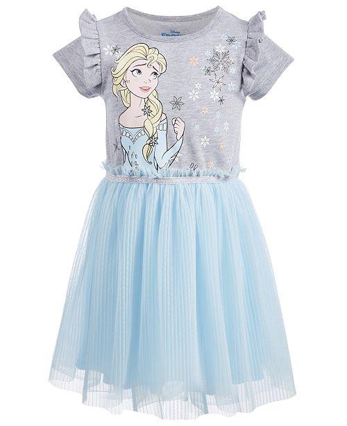 210b070fe7 Disney Toddler Girls Pleated Elsa Dress   Reviews - Dresses - Kids ...