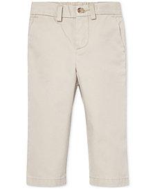 Polo Ralph Lauren Baby Boys Flat-Front Cotton Chino Pants