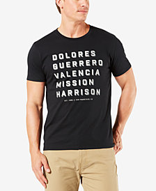 Dockers Men's Slim-Fit Mission Streets Short-Sleeve T-Shirt