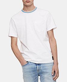Calvin Klein Jeans Men's Striped-Collar Ringer T-Shirt