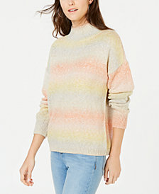 I.N.C. Ombré Turtleneck Sweater, Created for Macy's