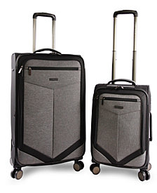 Perry Ellis Reverse 2-Piece Luggage Set