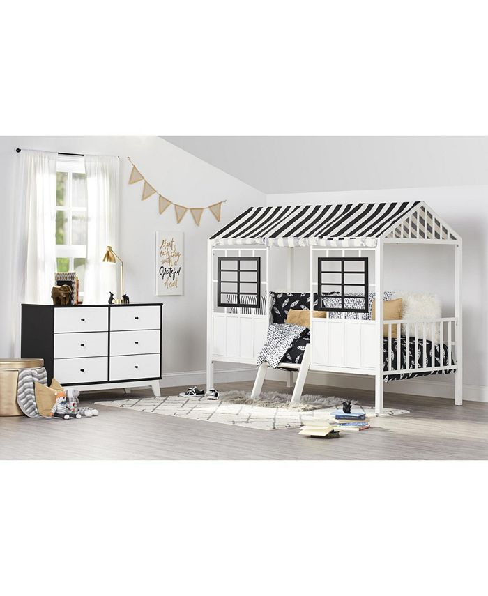 Little Seeds - Forest Loft Bed in Gray