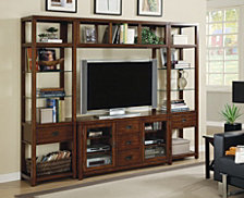 Danforth Wall Group with 56'' Console