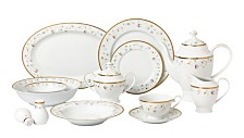 Greta 57-PC Dinnerware Set, Service for 8