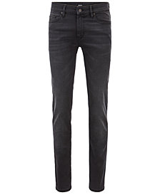 BOSS Men's Skinny Fit Super-Stretch Denim Jeans