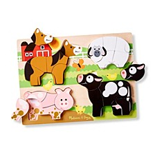 Chunky Jigsaw Puzzle - Farm Animals
