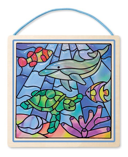 Melissa and Doug Stained Glass Made Easy - Ocean