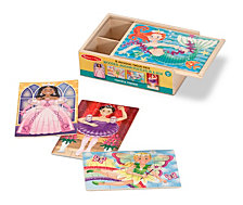 Fanciful Friends Puzzles In A Box