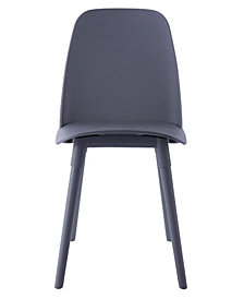 Cosmo Grey Chair, Set Of 2