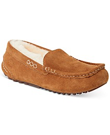 Fireside Mel Shearling Moccasin Slippers