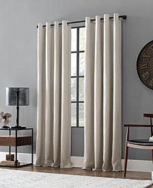 Archaeo Linen Blend Blackout Grommet Top Curtain Collection