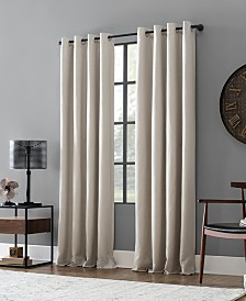 Archaeo Linen Blend Blackout Grommet Top Curtain Collection