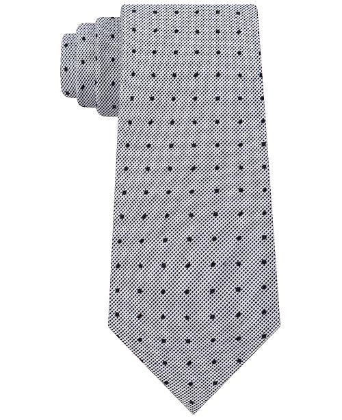 fc7aacd288a1 Calvin Klein Men's Slim Multi-Dot Tie & Reviews - Ties & Pocket ...