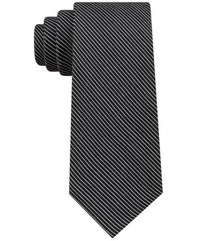 Calvin Klein Men's Slim Pintstripe Tie