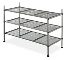 3-Tier Gunmetal Mesh Shelves