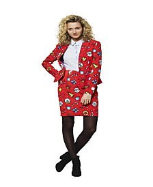 OppoSuits Women's Dashing Decorator Christmas Suit