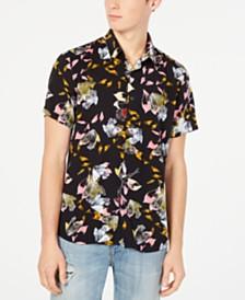 4606141b1e0512 GUESS Men s Hawaiian Pineapple Shirt   Reviews - Casual Button-Down ...