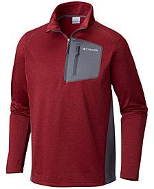 Columbia Men's Jackson Creek Colorblocked 1/2-Zip Fleece Sweatshirt