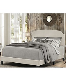 Desi Upholstered King Bed