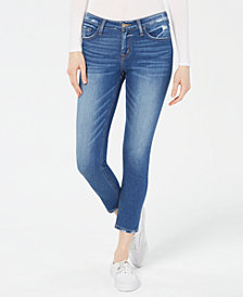 Flying Monkey Frayed Skinny Jeans