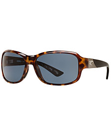 Costa Del Mar Polarized Sunglasses, INLET 58P