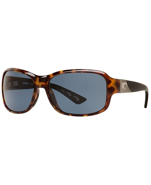 e9551ed7b362 Costa Del Mar Polarized Sunglasses, INLET 58P & Reviews - Sunglasses ...