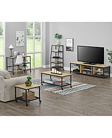 Ameriwood Home Lone Oak TV Stand
