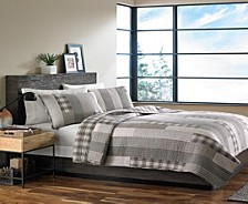 Fairview Grey King Quilt Set