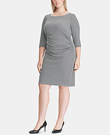 Lauren Ralph Lauren Plus Size Jacquard Sheath Dress