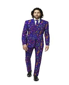 OppoSuits Men's Doodle Dude Tropical Suit