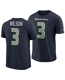 Men's Russell Wilson Seattle Seahawks Player Pride Name and Number T-Shirt